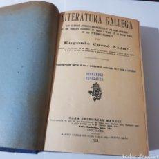 Libros: LITERATURA GALLEGA 1911 EUGENIO CARRE ALDAO. Lote 184640641