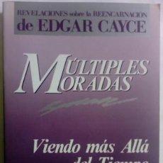 Libri di seconda mano: MÚLTIPLES MORADAS. VIENDO MÁS ALLÁ DEL TIEMPO Y DEL ESPACIO - GINA CERMINARA. INTRODUCCIÓN DE HUGH L. Lote 184653497