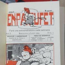 Libros: REVISTA EN PATUFET 1904 MÁS DE 50 NUMEROS EDICION COMMEMORATIVA 1978. Lote 184739763