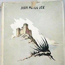 Libros: HISTORIA DE LOS CASTILLOS DE LA PROVINCIA DE ALICANTE. - MATEO BOX, JUAN.-. Lote 125644436