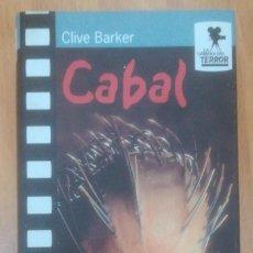 Libros: CABAL - BARKER, CLIVE. Lote 184753182