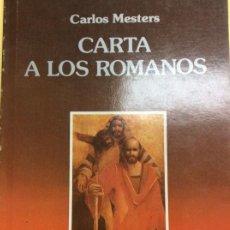 Libros: CARTA A LOS ROMANOS . Lote 185991295