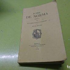 Libros: EL FINAL DE NORMA, PEDRO ANTONIO DE ALARCON, 1903. Lote 186082492