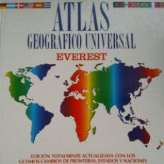 Libros: ATLAS GEOGRÁFICO UNIVERSAL/EVEREST. Lote 186366588