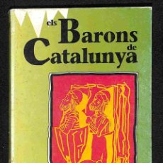 Libros: ELS BARONS DE CATALUNYA - SANTIAGO SOBREQUÉS. Lote 186423247