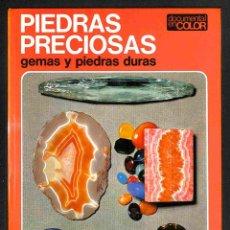Libros: PIEDRAS PRECIOSAS, GEMAS Y PIEDRAS DURAS - HENRI-JEAN SCHUBNEL. Lote 186425097