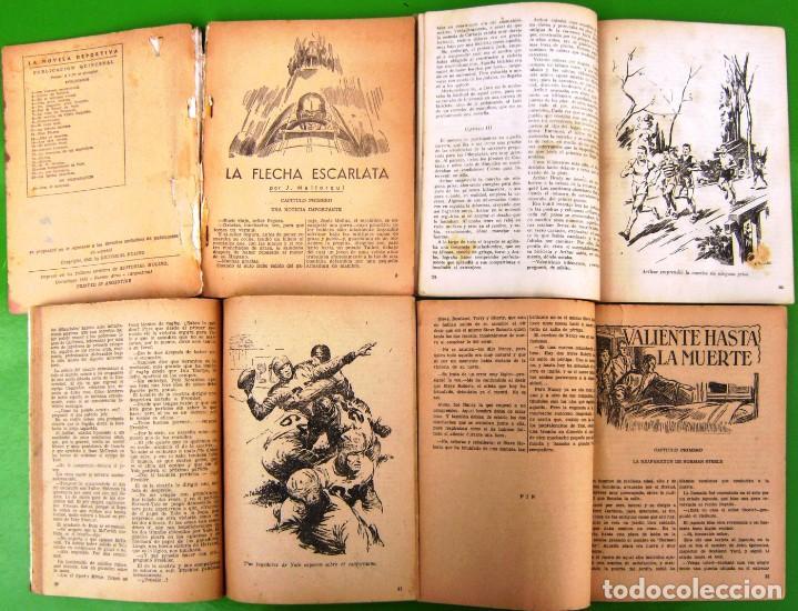 Libros: Lote Narrativa deportiva (J. Mallorqui) - años 40 - Foto 2 - 187544231