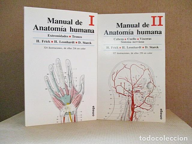 FRICK, H./ LEONHARDT, H./ STARCK, D. - MANUAL DE ANATOMÍA HUMANA (2 VOLS.) (Libros sin clasificar)