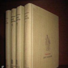Libros: DON QUIJOTE EN SERBIO. 4 TOMOS 1952. Lote 189302675