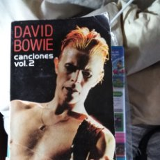 Libros: DAVID BOWIE CANCIONES 2 ESPIRAL. Lote 189621575