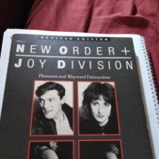 Libros: NEW ORDER + JOY DIVISION EN INGLES. Lote 189688782