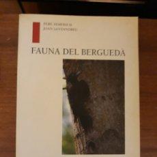 Libros: FAUNA DEL BERGUEDÀ. Lote 190390540