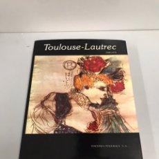 Libros: TOULOUSE LAUTREC. DIBUJOS. JAN POLASEK.. Lote 190397277