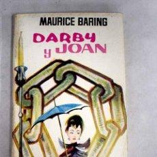 Libros: DARBY Y JOAN. Lote 190788177