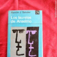 Livros em segunda mão: LITERATURA ESPAÑOLA CONTEMPORANEA. LOS LAURELES DE ANSELMO. RAMON J. SENDER. Lote 190802877