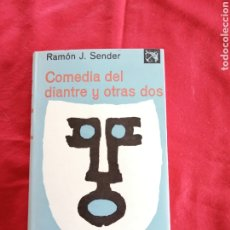 Livros em segunda mão: LITERATURA ESPAÑOLA CONTEMPORANEA. COMEDIA DEL DIANTRE Y OTRAS DOS. RAMON J. SENDER. Lote 190802995