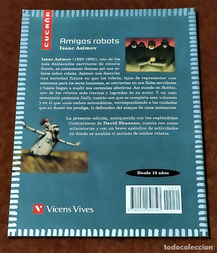 Libros: AMIGOS ROBOTS - Foto 3 - 190875378