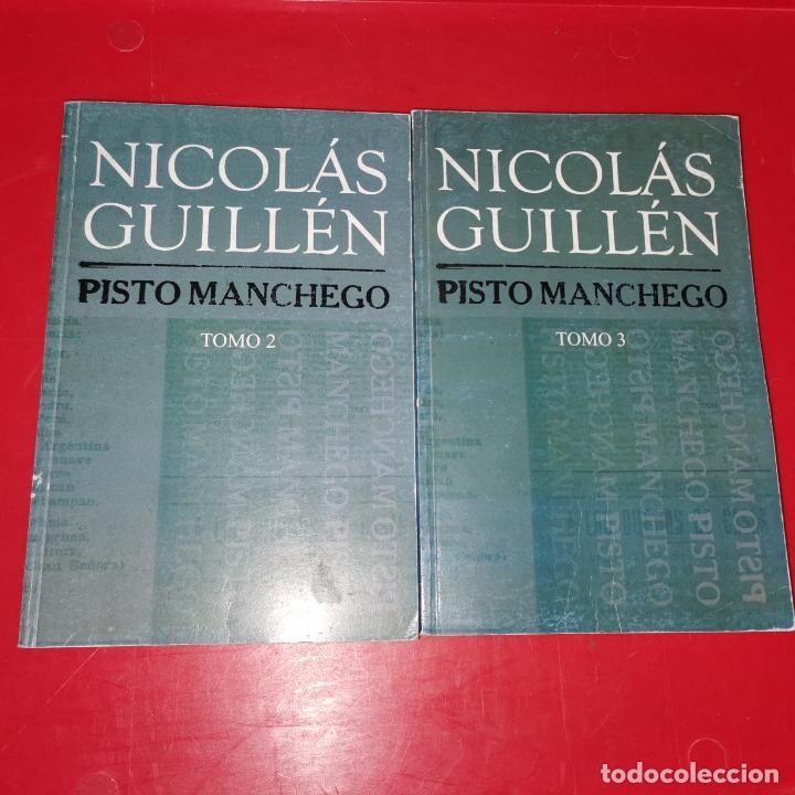 PISTO MANCHEGO TOMO 2 Y 3 GUILLEN, NICOLAS (Libros sin clasificar)
