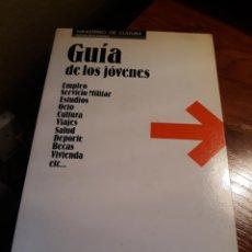 Libros: GUIA DE LOS JOVENES - CIRCULO , KETRES . MINISTERIO DE CULTURA - AÑO 1985. Lote 190948856