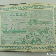 Libros: COMPAÑÍA TRASATLÁNTICA. CIEN AÑOS DE VIDA POR EL MAR. 1850-1950.. Lote 191034241