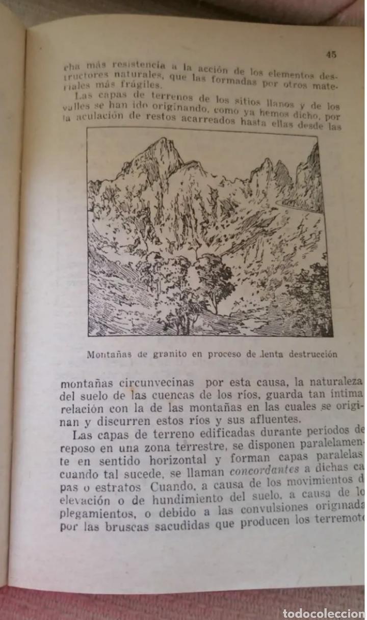 Libros: La tierra y el hombre. Juan Pla Cargol 1962 - Foto 2 - 192293945