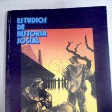 Libros: ESTUDIOS DE HISTORIA SOCIAL. NÚM 54-55. Lote 205180416