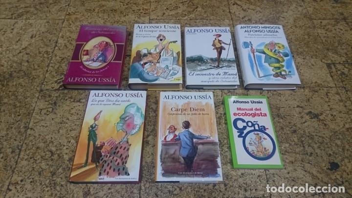 LOTE DE LIBROS DE ALFONSO USSIA, ILUSTRACIONES DE MINGOTE Y BARCA (Libros sin clasificar)
