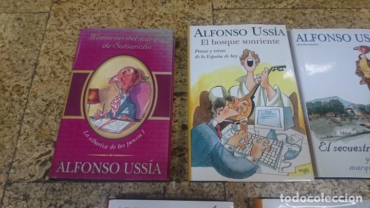 Libros: LOTE DE LIBROS DE ALFONSO USSIA, ILUSTRACIONES DE MINGOTE Y BARCA - Foto 2 - 192648716
