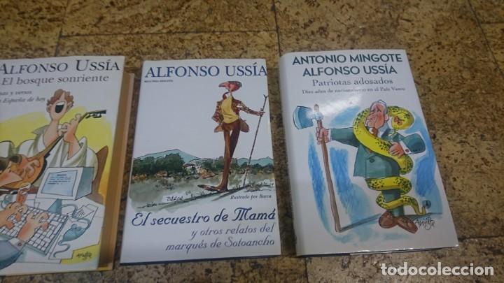 Libros: LOTE DE LIBROS DE ALFONSO USSIA, ILUSTRACIONES DE MINGOTE Y BARCA - Foto 3 - 192648716