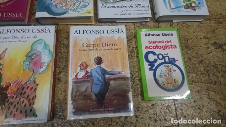 Libros: LOTE DE LIBROS DE ALFONSO USSIA, ILUSTRACIONES DE MINGOTE Y BARCA - Foto 5 - 192648716