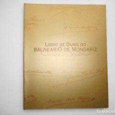 Libros: VV.AA LIBRO DE OURO DO BALNEARIO DE MONDARIZ Y98476T . Lote 192973415