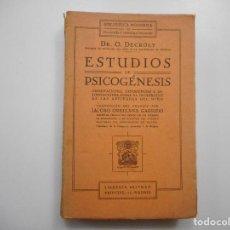 Libros: DR. O. DECROLY ESTUDIOS DE PSICOGÉNESIS Y98551T . Lote 193227121