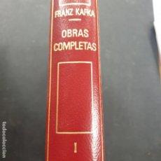 Libros: OBRAS COMPLETAS KAFKA TOMO I PLANETA. Lote 194074503