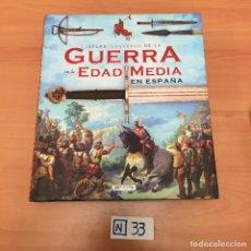 Libros: GUERRA EN LA EDAD MEDIA EN ESPAÑA. Lote 194096642
