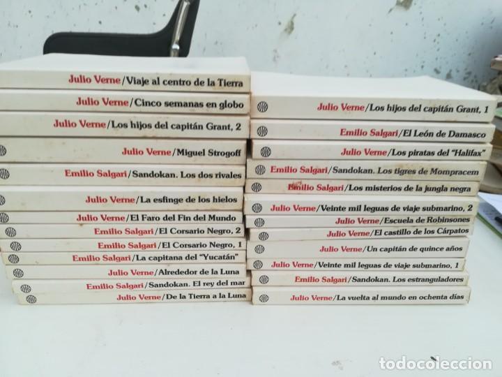 COLECCION DE 25 LIBROS DE JULIO VERNE (Libros sin clasificar)