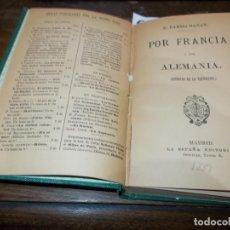 Libros: CAMPOAMOR, RAMÓN DE: - POLÉMICAS. SEGUNDA EDICIÓN AUMENTADA.. Lote 190250192