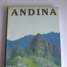 Libros: ANDINA - GUADALUPE RAMOS DE CASTRO - 1998 - 163 PAGINAS - TAPAS BLANDAS - MUCHAS FOTOS. Lote 194221938