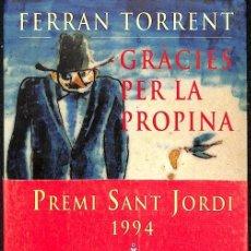 Libros: GRÀCIES PER LA PROPINA (CATALÁN). Lote 194233013