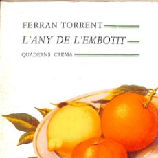 Libros: L'ANY DE L'EMBOTIT (CATALÁN). Lote 194233033