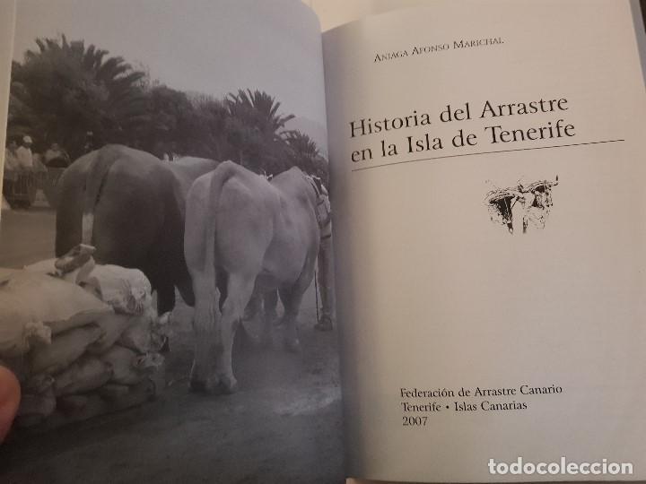 Libros: HISTORIA DEL ARRASTRE EN LA ISLA DE TENERIFE-A.AFONSO MARICHAL-FED.DE ARRASTRE CANARIA-2007(ILUSTR) - Foto 2 - 194237713