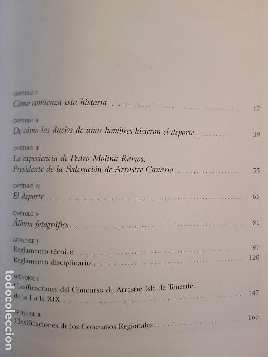 Libros: HISTORIA DEL ARRASTRE EN LA ISLA DE TENERIFE-A.AFONSO MARICHAL-FED.DE ARRASTRE CANARIA-2007(ILUSTR) - Foto 3 - 194237713