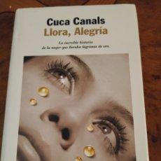 Libros: LLORA, ALEGRÍA. Lote 194238107