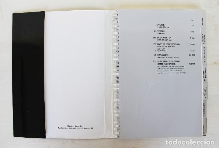Libros: Catálogo original raro de Rolex 1999-2000 - Foto 2 - 194247490