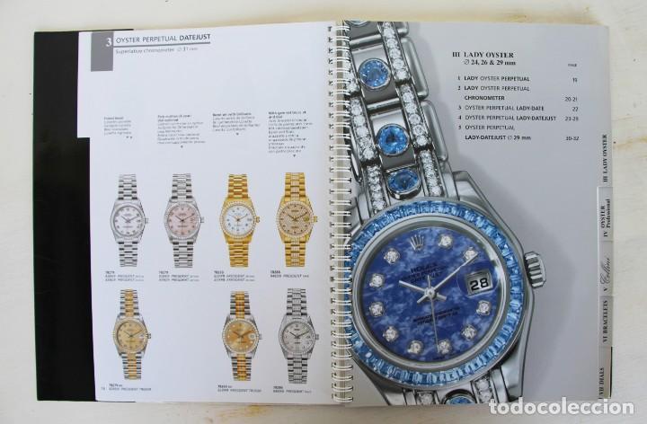 Libros: Catálogo original raro de Rolex 1999-2000 - Foto 5 - 194247490