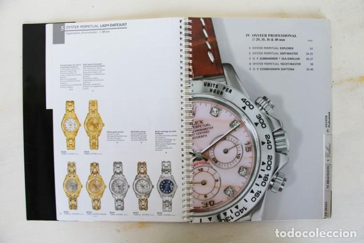 Libros: Catálogo original raro de Rolex 1999-2000 - Foto 6 - 194247490