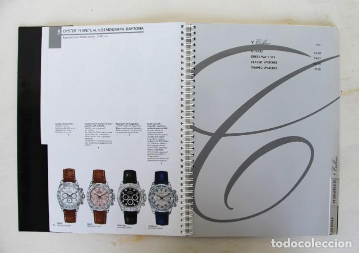 Libros: Catálogo original raro de Rolex 1999-2000 - Foto 7 - 194247490