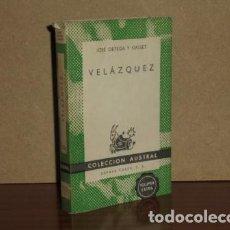 Libros: VELÁZQUEZ - ORTEGA Y GASSET, JOSÉ. Lote 194251721
