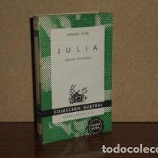 Libros: JULIA (ENSAYOS LITERARIOS) - VIVES, AMADEO. Lote 194251726