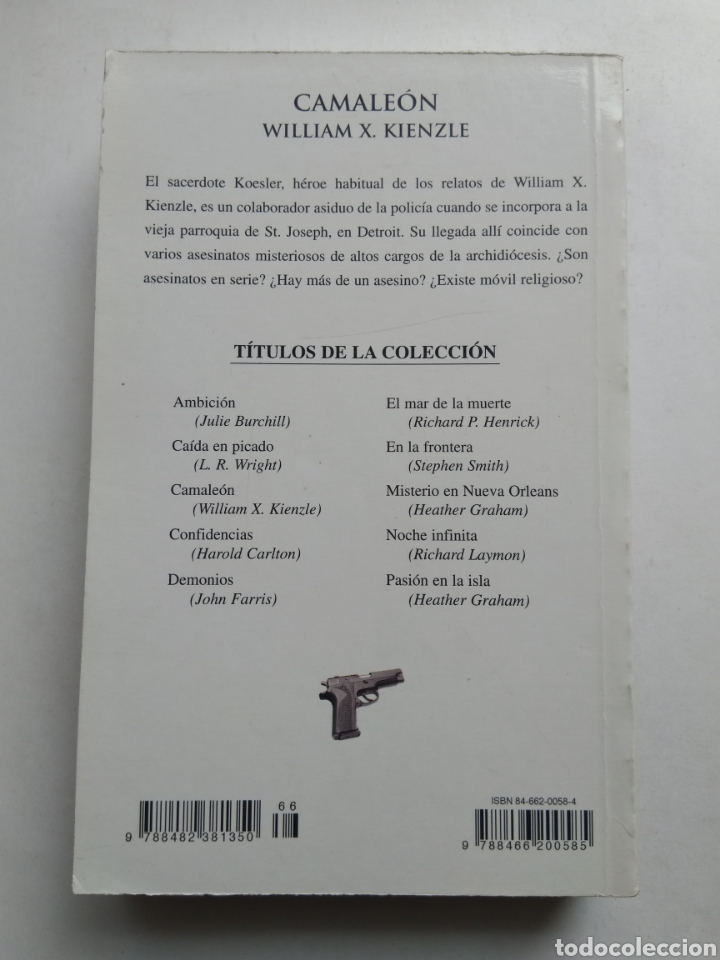 Libros: CAMALEON/WILLIAM X. KIENZIF - Foto 2 - 194254546