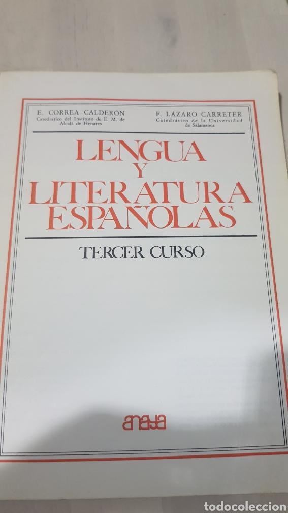 Libros: LIBRO LENGUA Y LITERATURA ESPAÑOLAS ANAYA - Foto 5 - 194254885